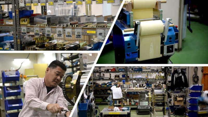 noodle machine factory