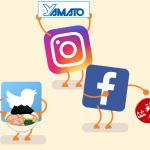 Yamato en las redes sociales