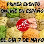 1ᵉʳ evento online en español (7 de mayo) (FINALIZADO)