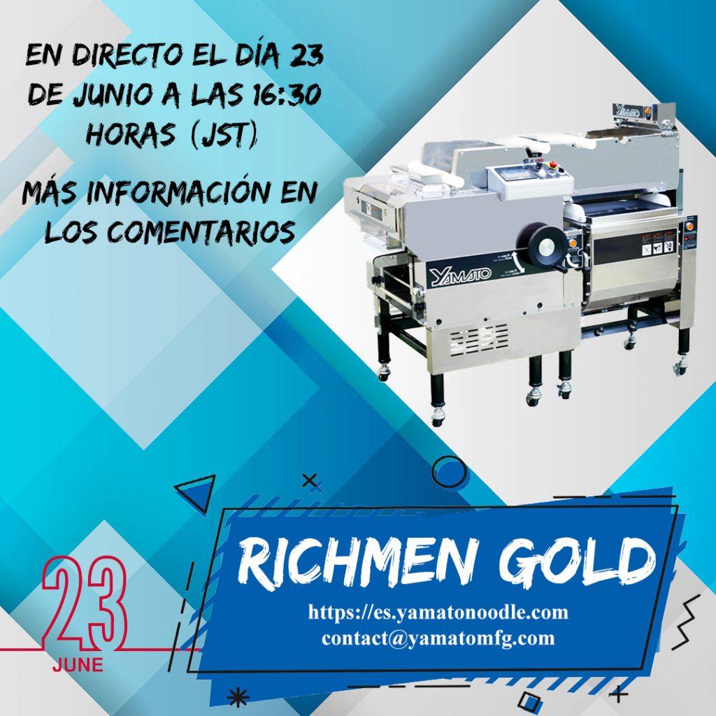 Evento: Richmen Gold (23 de junio) (FINALIZADO)